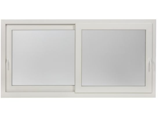 Fenêtre Coulissante Pvc 2 Vantaux Standard Ou Sur Mesure